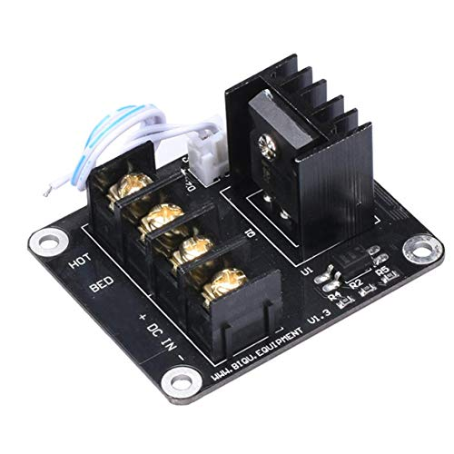 Logicstring 3D Hot Bed Printer Power Module/Focus Mosfet Expansion Module Inc 2Pin Lead With Cable For Anet A8 A6 A2 Ramps 1.4