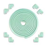 EYCFSJ チャイルドセーフティコーナーガード 16.4フィートのエッジ+8コーナーセキュリティプルーフコーナープロテクター子供保護安全デスクテーブルバンパークッションテープミント付き