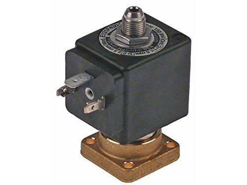 Magnetventil, 3-Wege, 230 VAC 131F Serie, 2,5 mm, zum Aufschieben, DIN-10 bis 140 °C, Reneka 9008257 Cimbali 1120330