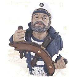 Captain Bust Nautical Sculpture/Figurine