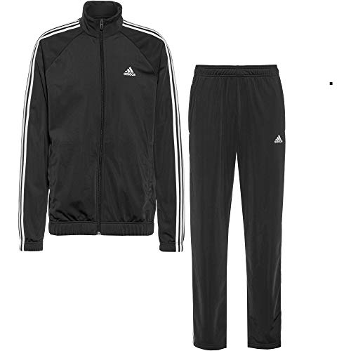 adidas Herren OSR M PES 3S Sportanzug, Black/White, 8