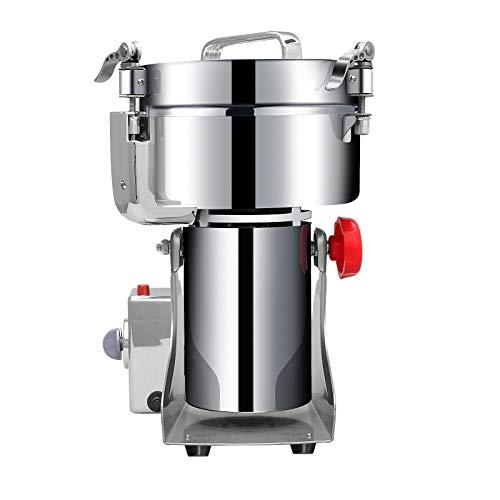 APWONE 1000g Grain Grinder Mill,Commercial Pulverizer Grinder High-speed Powder Machine Grinder for Dry Herb Spice Coffee Corn Bean