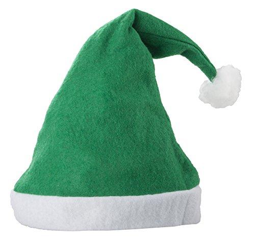 Bonnet de Père Noel Vert