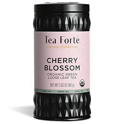 Tea Forté Hanami - Té verde orgánico y hojas enteras - Caja de aluminio 80