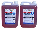 Odessa Red Antifreeze & Summer Coolant Concentrate For All Engine Types- 5L x 2