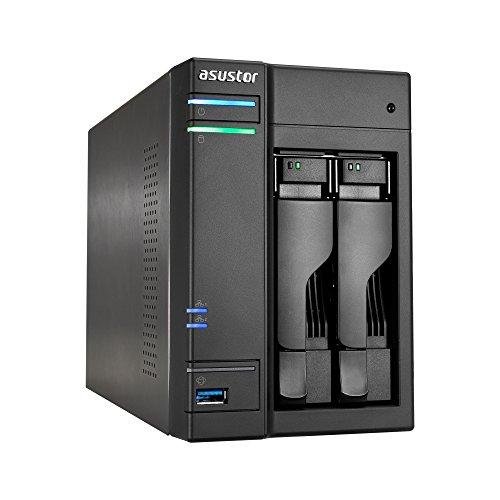 Asustor AS6302T Storage Server Ethernet LAN Black NAS
