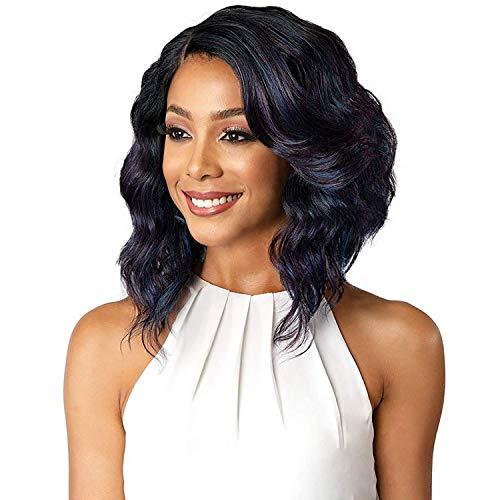 Bobbi Boss Premium Synthetic Lace Front Wig - MLF181 DENNA 2 DARK BROWN