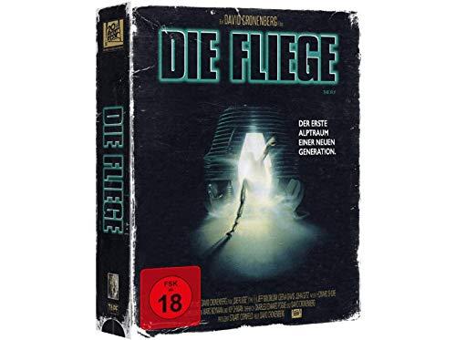 Die Fliege - Exklusive VHS Retro Tape Edition nummeriert Limitiert auf 1.111 Stück - Blu-ray