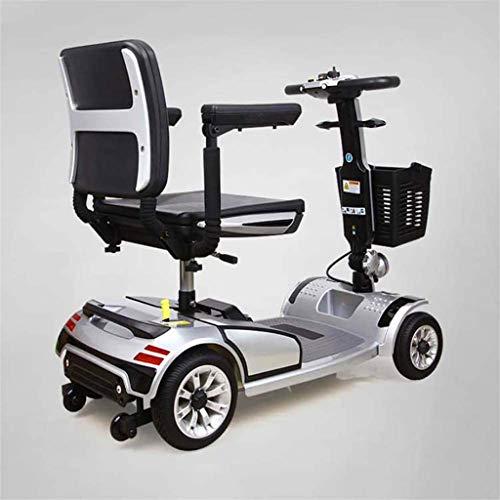Leichte Faltbare Elektro-Rollstuhl Motorisierte 4-Rad-Elektroroller/Elektroroller/ältere Menschen im Freien Roller...