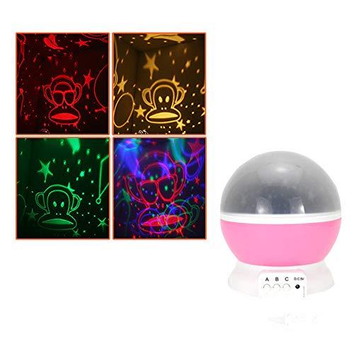 longhua LED Sternenhimmel 1W Fantasy Rotierende Romantische Sternenlicht Projektionsleuchte USB C.