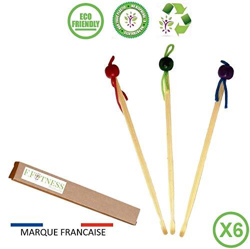 200x | 100/% biologique B/âtonnets doreille ou b/âtonnets de soin avec t/ête en coton dans une bo/îte /él/égante durable et z/éro d/échet Cotons-tiges en bambou