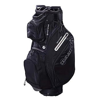 RAM Golf FX Deluxe Golf Cart Bag with 14 Way Dividers Black/Grey