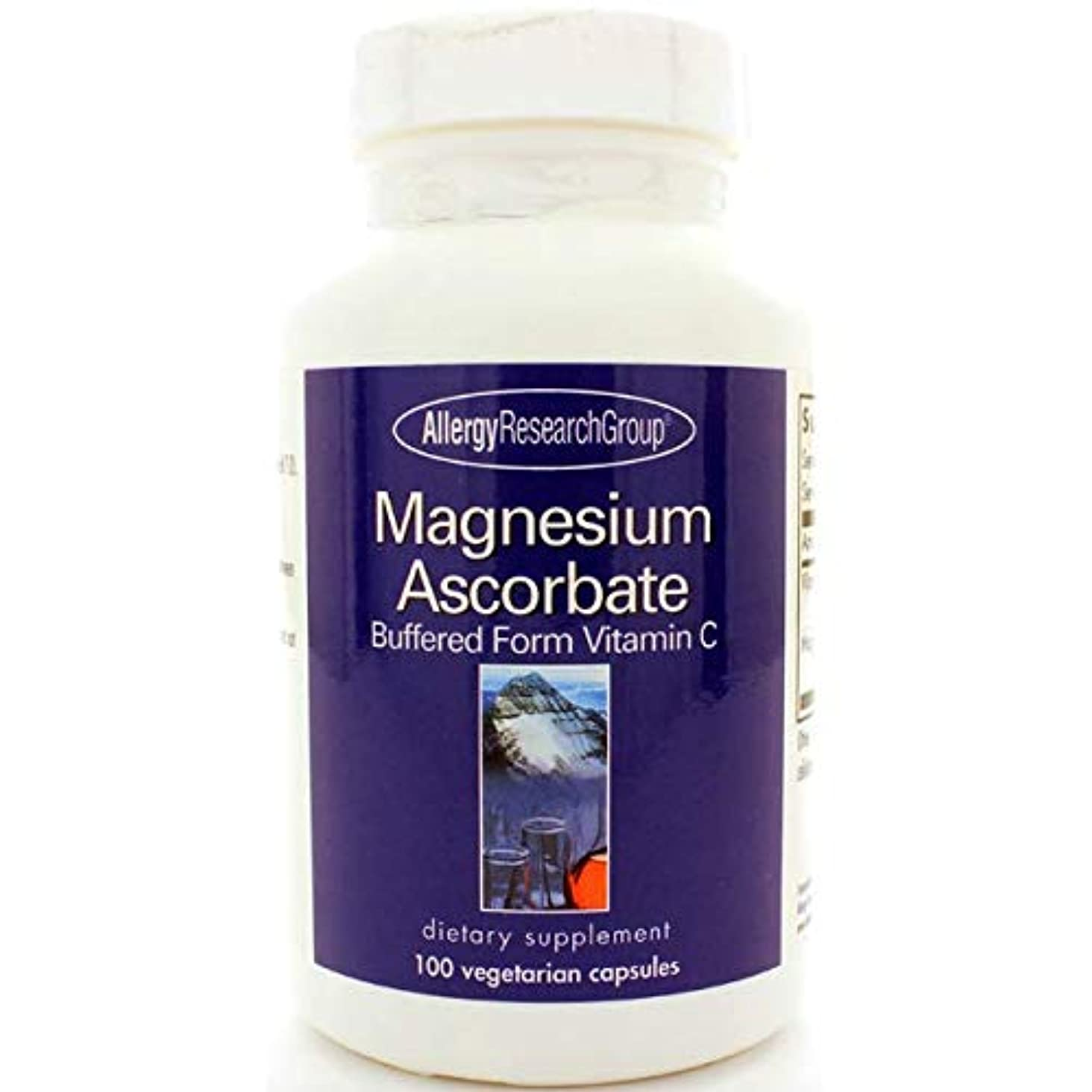 プレゼンテーション実証するスクリーチアスコルビン酸マグネシウム(ビタミンC)100カプセル[海外直送品]
