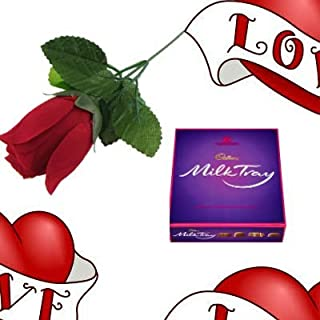 Cadbury The Milk Tray And Rose Love Gift By Moreton Gifts