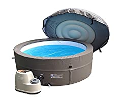 "Superb Plug & Play - Just plug it into a standard 13amp household outlet, relax and enjoy your new portable spa 29"" extra deep for full body and shoulder massage. Warm water and air massage bubbles help create the ideal atmosphere to promote self-hea..."