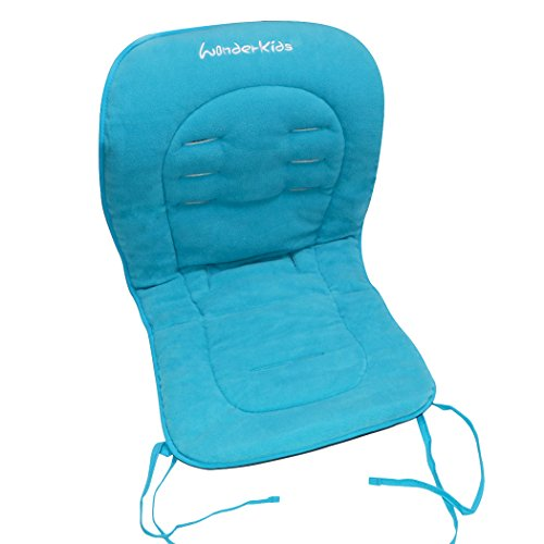 Asunflower Wood High Chair Cover Baby Seat Cushion Pad, Soft Fabric Stroller Seat Cover Cushion Insert with Ties