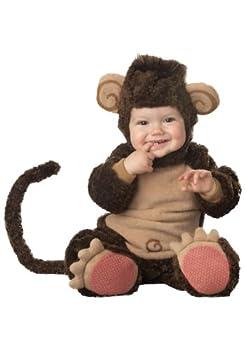 Unisex Baby Monkey Costume Small  6-12 months