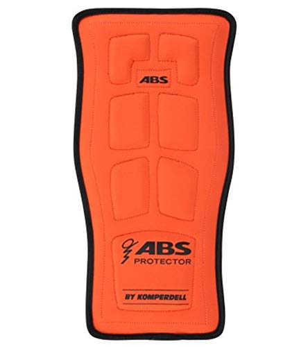 ABS Protector by KOMPERDELL Rucksack-Polsterung schützender Protektor Vario Base Outdoor Rucksack Orange, Größe:S