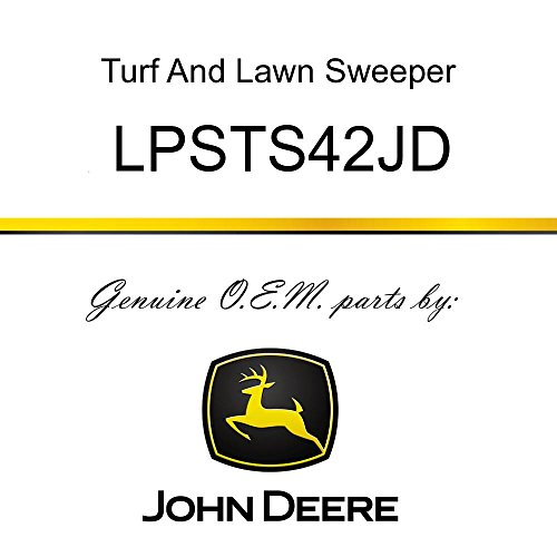 John Deere Tow-Behind Lawn Sweeper - LPSTS42JD