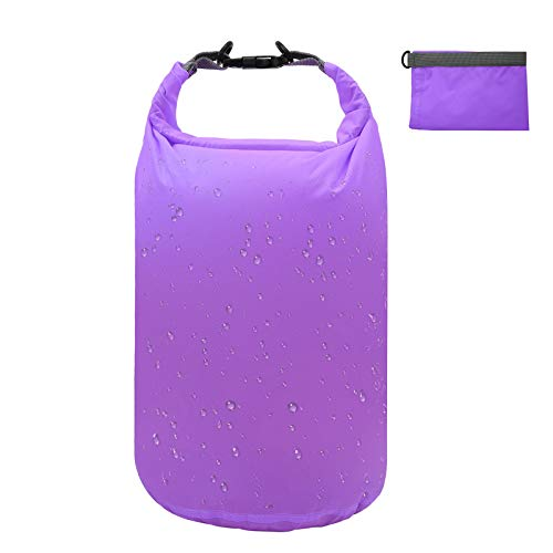 5L/10L/20L/40L/70L Dry Bag Dry Sack Waterproof Lightweight Portable Dry Storage Bag to Keep Gear Dry Clean for Kayaking Gym Hiking Swimming Camping Snowboarding Boating FishingPurple 70L