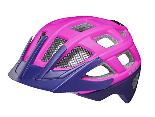 KED Kailu S pink Purple matt - 49-53 cm - inkl. RennMaxe Sicherheitsband - Fahrradhelm Skaterhelm MTB BMX Kinder Jugendliche