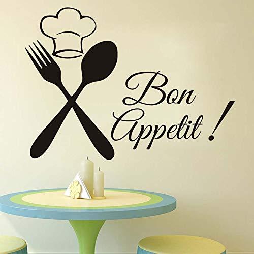 Tianpengyuanshuai servies gastronomisch chef-wandtattoo keuken badkamer vinyl decoratie