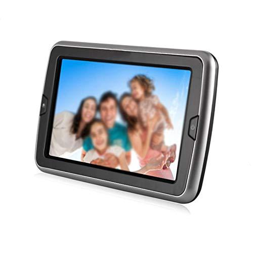 DQWGSS Reproductor De DVD Portátil De 10 Pulgadas, Totalmente Compatible con Múltiples Formatos, Admite Varios Idiomas, Recargable, Adecuado para Automóvil, Reproducción (Negro)