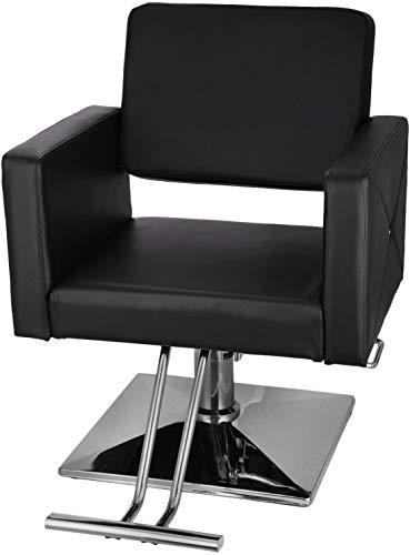 Sedia da barbiere, per parrucchieri, con pompa idraulica, in pelle sintetica in poliuretano, per saloni di parrucchiere, spa, saloni di bellezza, da 150 kg