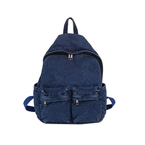 Rugzak in eenvoudige stijl, voor dames, diefstalbescherming, voor jongeren, grote capaciteit, vintage, stevige schoudertas
