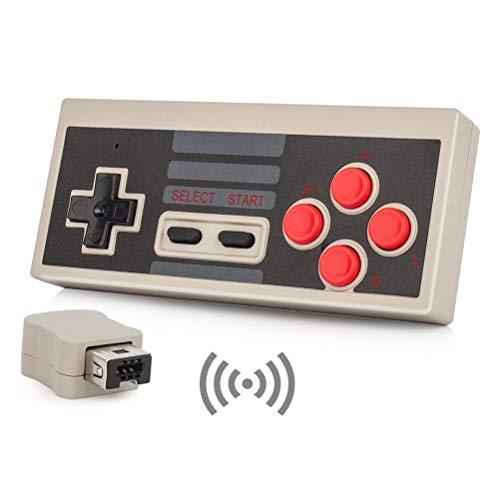 Link-e : Gamepad inalámbrico con función turbo para la consola Nintendo Mini...
