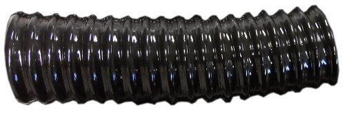 Tricoflex 01111992 Teichschlauch, schwer PVC schwarz 25 mm innen 25 m Rolle