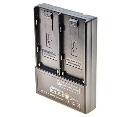 PROtastic V-Mount V-Lock - Adaptador de batería para 2 baterías Sony Np-F