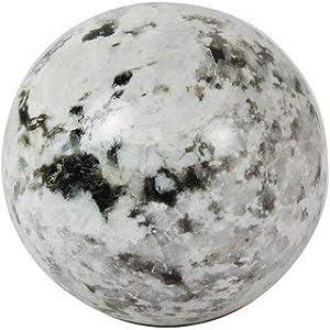 Spiritual Elementz Reiki Healing Rainbow Moonstone Gemstone Sphere Ball (40-50mm).
