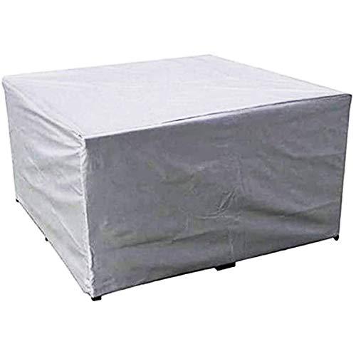 STZYY Fodere per mobili da Giardino Anti-Vento/Sole, Rettangolo di Copertura per mobili da Esterno, Design Esterno con Coulisse Tavolo da terrazza per terrazza Telo di Protezione Impermeabile, A