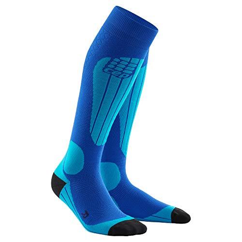 CEP – SKI THERMO SOCKS für Damen | Warme Thermosocken für Wintersport in blau | Größe IV