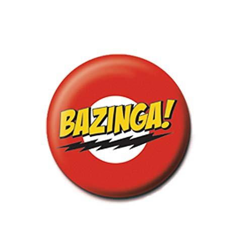 Pritties Accessories Echt The Big Bang Theory Bazinga Taste Abzeichen Stift Warner Bros Sheldon