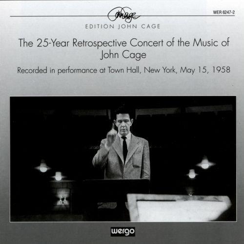 Cage : Concert-rétrospectif, 25 ans de musique