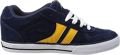 Globe Encore - 2, Scarpe da Skateboard Uomo, Multicolore (Navy/yellow), 43 EU