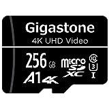 Gigastone マイクロSDカード 256GB Micro SD card SDアダプタ付き U1 C10 100MB/S SDXC micro sd カード 4K Ultra HD ビデオ 撮影