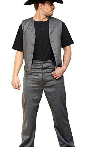 STARS & STRIPES Old Style Westernhose Franklin - Vintage Oldstyle Westernkleidung Westernbekleidung (105 cm) Grau