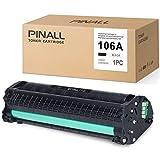 PINALL - Tóner compatible con HP 106A W1106A (con chip) para HP Laserjet MFP 135A 135W 135R 137FNW 107A 107W 107R (1 negro)