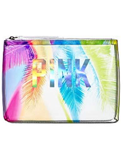 Victoria's Secret PINK Prism Palm Beauty Bag