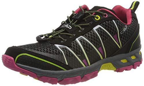 CMP – F.lli Campagnolo Damen Altak Wmn Trail Shoe Traillaufschuhe, Schwarz (Nero-RASPERRY-Acido 56AE), 40 EU