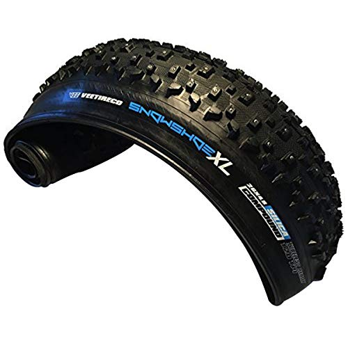 Vee Rubber 26x4.8 Snow Shoe XL Studded Fat Bike Tire 121-559 Folding Bead Silica Compound