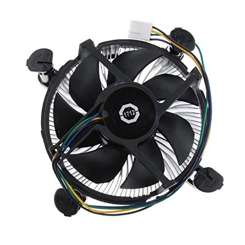 B Blesiya PC CPU Cooler 9cm Ventilador de Refrigeración Disipador de Calor 2100RPM Cojinete Aceitoso 170K para LGA 775 115X
