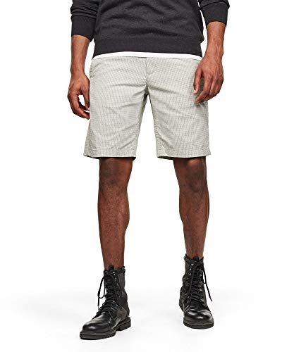 G-STAR RAW Mens Loic Relaxed Shorts, lt orphus Micro Tapis C309-B550, 33W