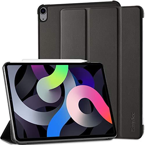 EasyAcc - Funda Compatible con iPad Air 10.9 2020(4. Generation), Estuche PU Ultra Delgado Premium con Stand Función Carcasa...