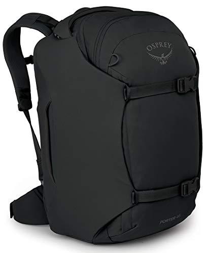 Osprey Porter 46 Travel Backpack, Black, One Size