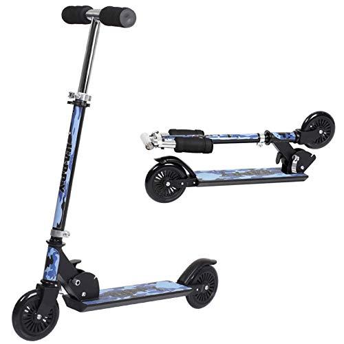 H.yeed 2 Wheel Kick Scooters,Folding Kids Scooter with Rear Brake&Adjustable Handlebar,Lightweight...