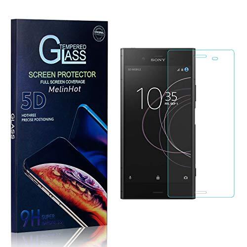 MelinHot Displayschutzfolie für Sony Xperia Z4 Compact, 9H Härte Schutzfilm aus Gehärtetem Glas, Anti Bläschen Displayschutz Schutzfolie für Sony Xperia Z4 Compact, 3 Stück